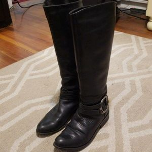 Jessica Simpson Riding Boots Black Size 7.5